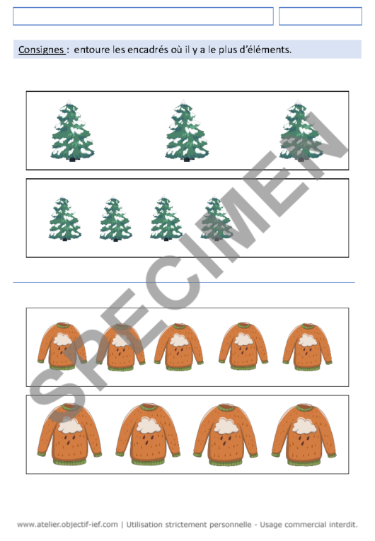 séquence thématique hiver thème ief grande section MS fichiers