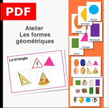 atelier formes géométriques maternelle PS MS GS IEF