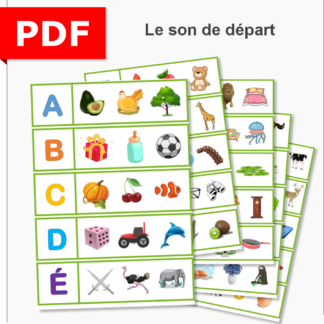 phonologie trouve intrus son départ maternelle cycle 1 moyenne section petite section grande section