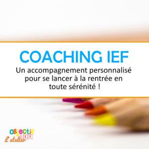 coaching ief personnalisé accompagnement ief instruction en famille